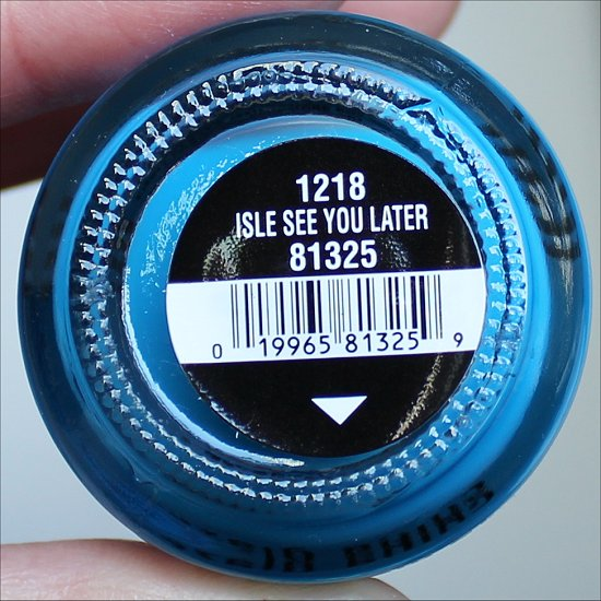 China Glaze Isle See You Later