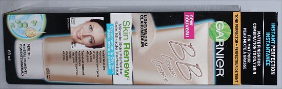 Garnier BB Cream Skin Renew Miracle Skin Perfector Light Medium Combination to Oily Skin