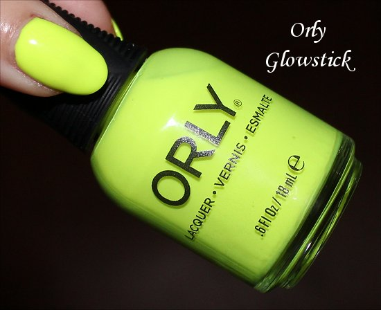 Glowstick by Orly Swatches