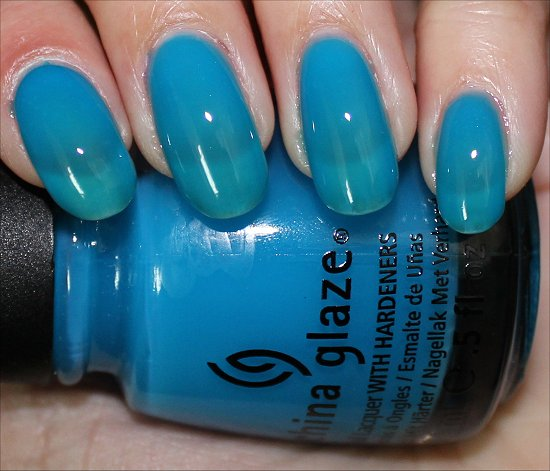 Isle See You Later China Glaze Sunsational Swatch