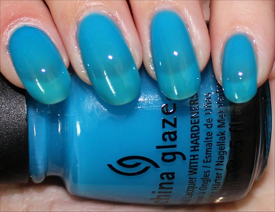 Isle See You Later China Glaze Sunsational Swatches
