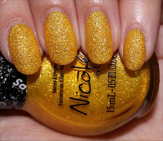 Lemon Lolly Gumdrops Nicole by OPI Swatches