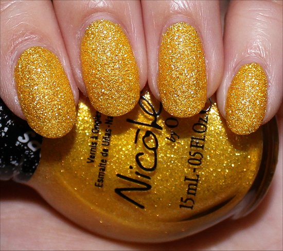Lemon Lolly Nicole by OPI Gumdrops Collection Swatches