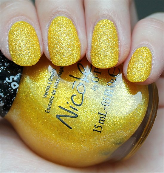 Lemon Lolly Nicole by OPI Swatch Gumdrops Swatches