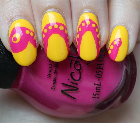Nail Art Snake Nails Tutorial & Photos