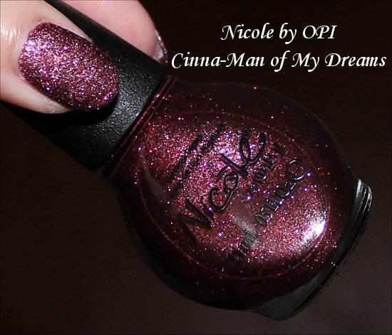 Nicole by OPI Cinna-Man of My Dreams Gumdrops Collection Swatches