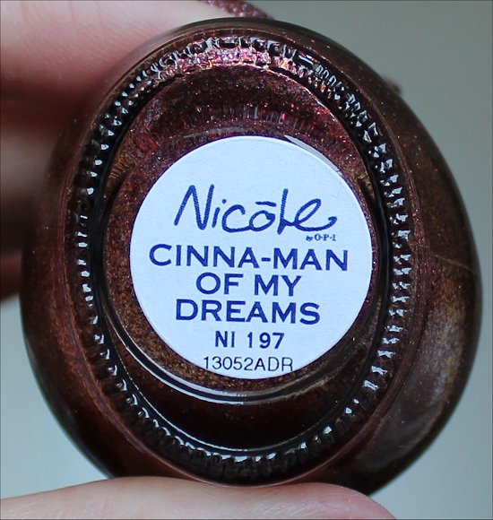 Nicole by OPI Cinna-Man of My Dreams Gumdrops Collection