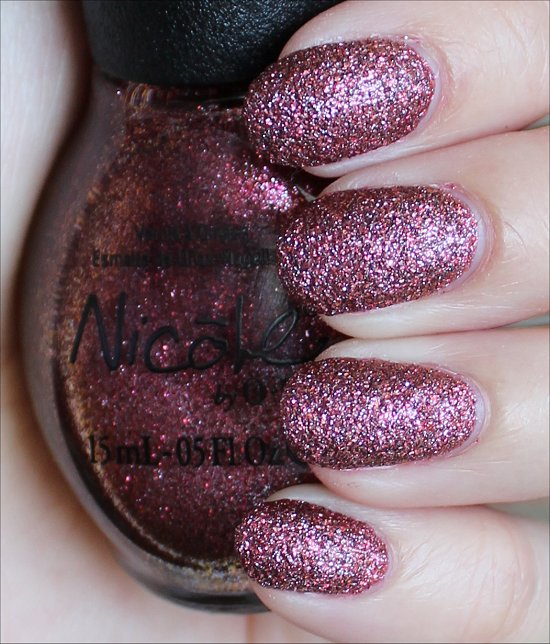 Nicole by OPI Cinna-Man of My Dreams Swatches & Review