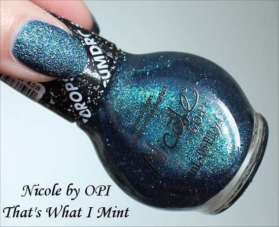 Nicole by OPI Gumdrops Collection That's What I Mint