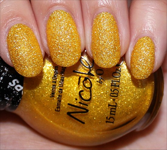 Nicole by OPI Lemon Lolly Gumdrops Swatch