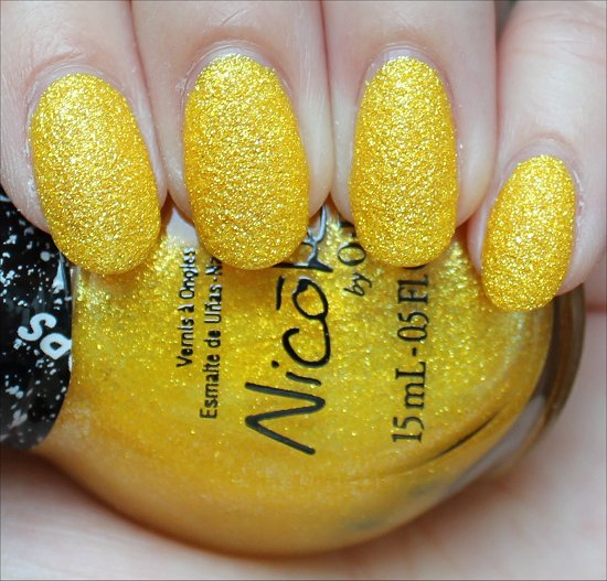 Nicole by OPI Lemon Lolly Review & Swatches