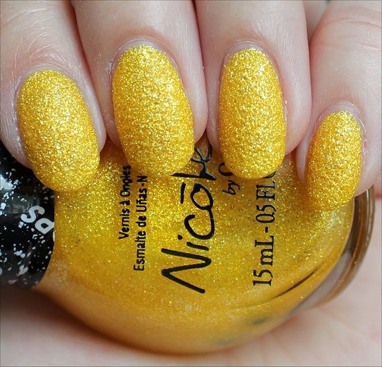 Nicole by OPI Lemon Lolly Swatch & Review