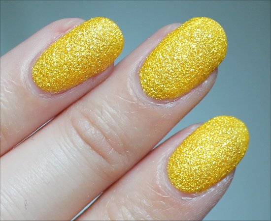 Nicole by OPI Lemon Lolly Swatch