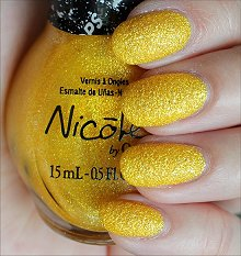 Nicole by OPI Lemon Lolly Swatches & Review