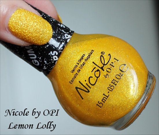 Nicole by OPI Lemon Lolly