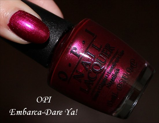OPI Embarca-Dare Ya Pictures OPI San Francisco Collection