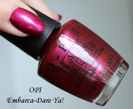 OPI Embarca-Dare Ya San Francisco Collection