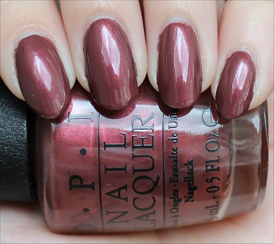 OPI I Knead Sour-Dough Review & Swatch