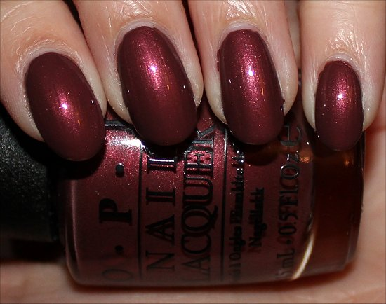OPI I Knead Sour Dough Review & Swatch