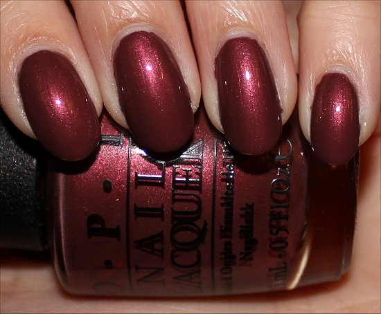OPI I Knead Sour Dough Review & Swatches