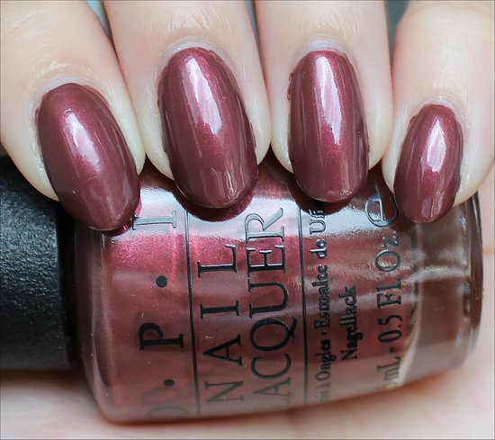 OPI I Knead Sour-Dough Swatch & Review