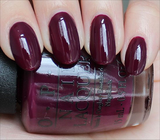OPI In the Cable Car-Pool Lane Review & Swatch