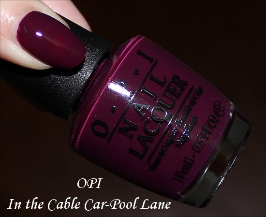 OPI In the Cable Car-Pool Lane San Francisco Collection