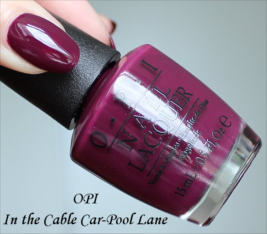 OPI In the Cable Car-Pool Lane San Francisco