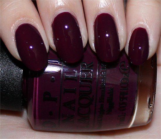 OPI In the Cable Car-Pool Lane Swatch & Photos
