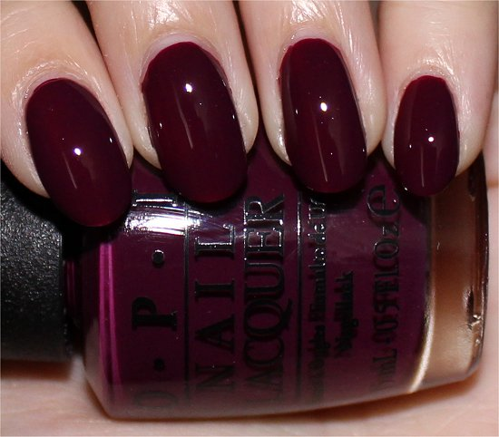 OPI In the Cable Car-Pool Lane Swatch, Review & Pictures