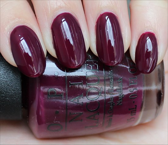 OPI In the Cable Car-Pool Lane Swatch & Review
