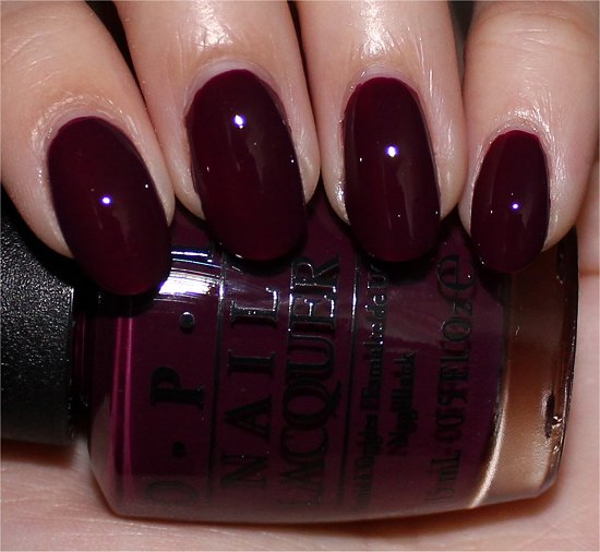 OPI In the Cable Car-Pool Lane Swatches, Review & Pictures
