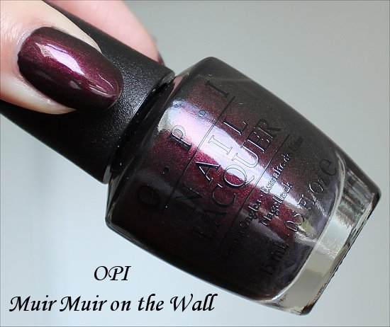 OPI Muir Muir on the Wall San Francisco Collection