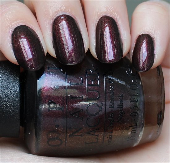OPI Muir Muir on the Wall Swatch OPI San Francisco Collection Swatches