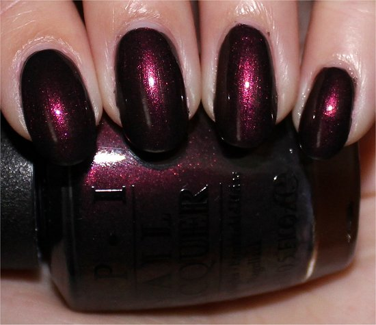 OPI Muir Muir on the Wall Swatch, Pictures & Review