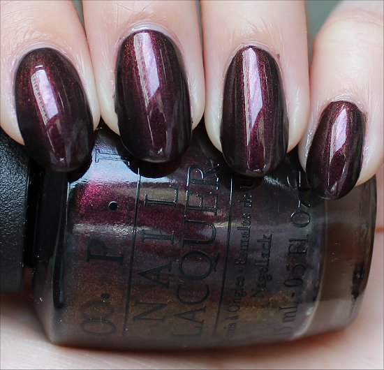 OPI Muir Muir on the Wall Swatch, Review & Pictures