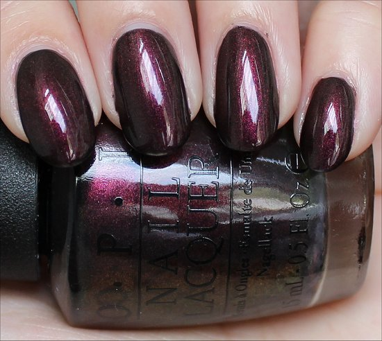 OPI Muir Muir on the Wall Swatches OPI San Francisco Collection Swatch