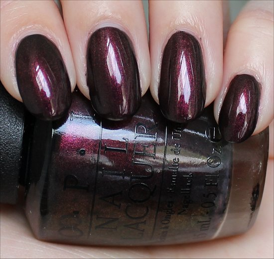 OPI Muir Muir on the Wall Swatches, Review & Pictures