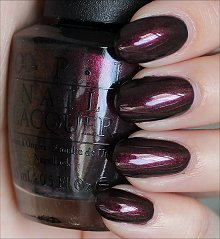 OPI Muir Muir on the Wall Swatches & Review