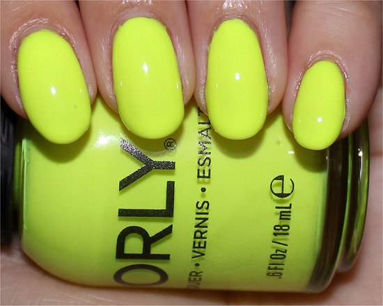 Orly Glowstick Photos Neon Nailpolish