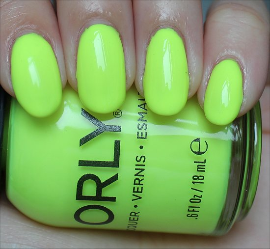 Orly Glowstick Review & Swatch