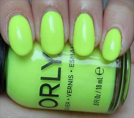 Orly Glowstick Review & Swatches