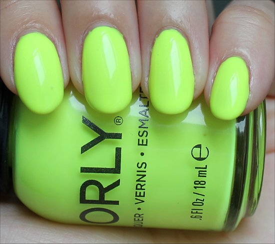 Orly Glowstick Swatch & Pictures