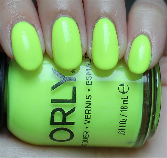 Orly Glowstick Swatch & Review