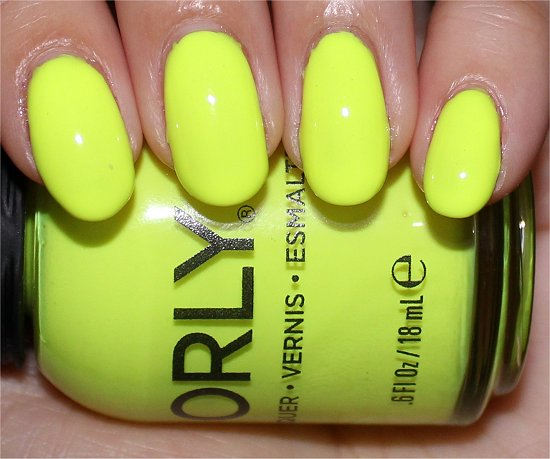 Orly Glowstick Swatches & Review | Swatch And Learn
