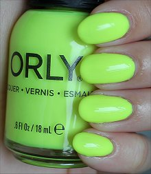 Orly Glowstick Swatches & Review