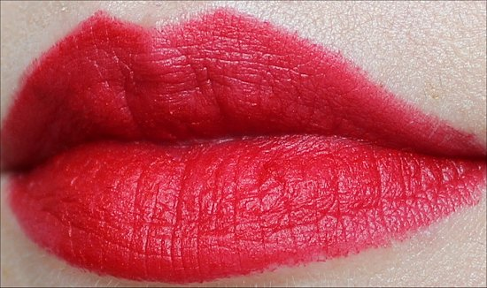 RiRi Woo MAC Lipstick Swatch & Review