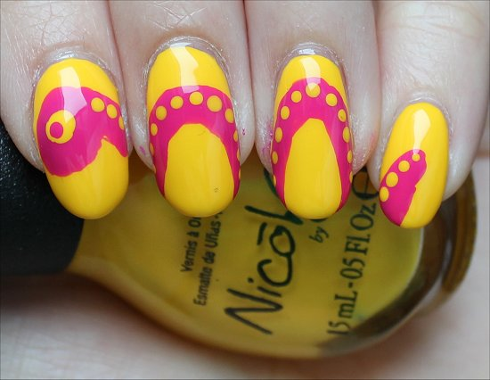Snake Nail Art Summer Nails