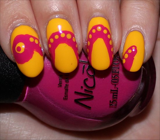 Snake Nails Creative Nail Art