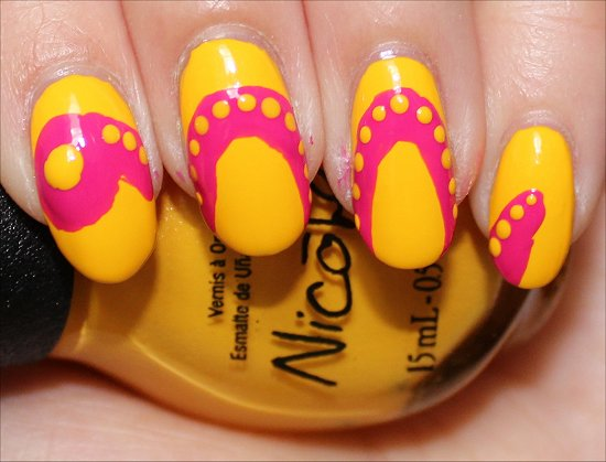 Snake Nails Nail Art Tutorial Step 5